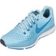 Nike Air Zoom Pegasus 34 Running Shoes Women ocean bliss/blue force-noise aqua-black